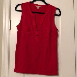 Banana Republic Red blouse